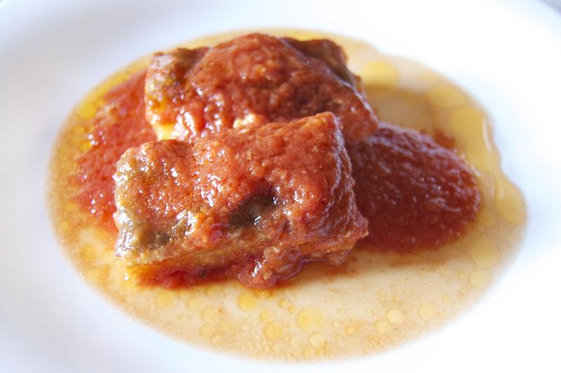 Bacalao en tomate for Como cocinar lomos de bacalao